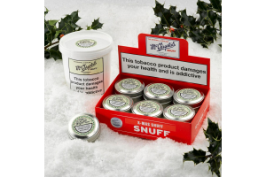 McChrystal's Snuff Festive Christmas Packaging
