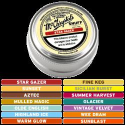 McChrystal's Flavoured Snuff Mini Tin