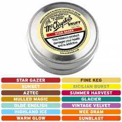 McChrystal's Snuff Flavours Large Tin