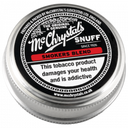 McChrystal's Smokers Blend Snuff Small Tin