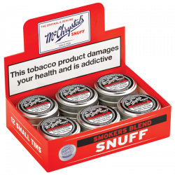 McChrystal's Smokers Blend Box of Small Tins