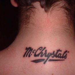 McChrystal's Snuff tattoo