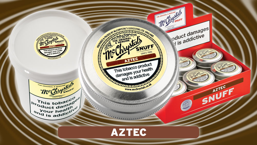Aztec  - Our New Chocolate Flavoured Snuff