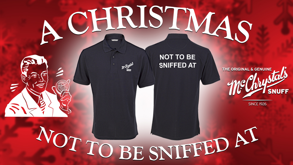 McChrystal's Polo Shirt Offer – Not To Be Sniffed At!