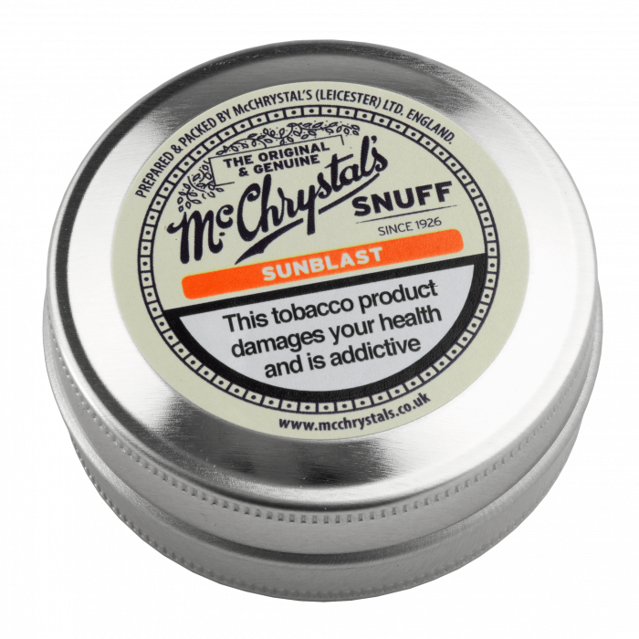 Sunblast - Apricot and Menthol Flavoured Snuff